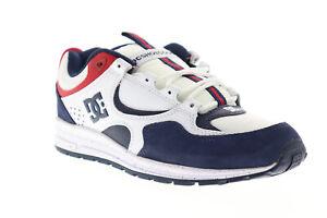 DC-KALIS-Lite-SE-ADYS-100382-Herren-Weiss-Wildleder-Low-Top-Skate-Sneakers-Schuhe-8
