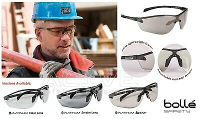 NEW BOLLE Silium Clear Lens Metal Frame Light Enhancing Sports Safety Sunglasses