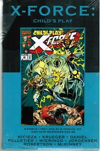 X-Force-Child-039-s-Play-marvel-Premiere-classic-100-Hardcover-Graphic-Novel