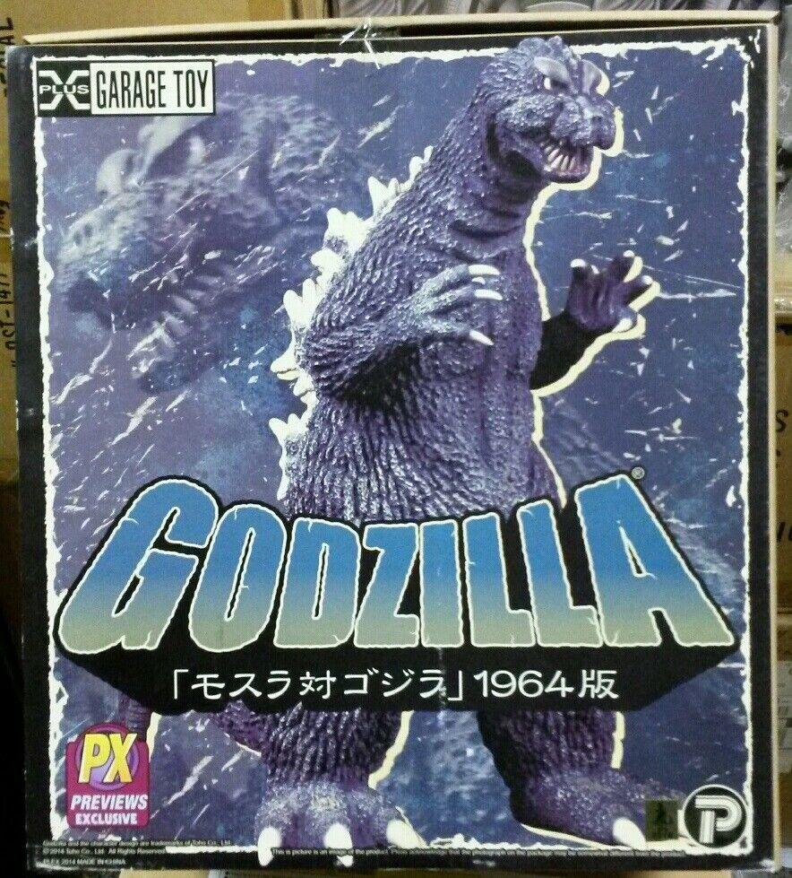 X-Plus TOHO 1964 Godzilla 12-Inch 12-Inch 12-Inch Vinyl FigurePX Exc30cmPlexMosuGojiNIB 1b0dd1