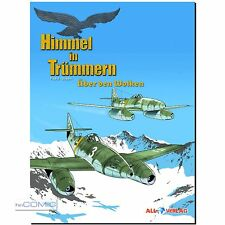 Himmel in Trümmern 1 NEUAUFLAGE 2. Weltkrieg Fliegerstaffel COMIC LP 40er NEU HC