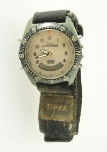 b3af80541 Timex Men's Expedition Analog Digital Combo Watch Cream Dial Fabric ...