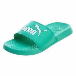 8335c7cf8575 PUMA Men s Popcat Slide Sandal green-biscay green 360265-28