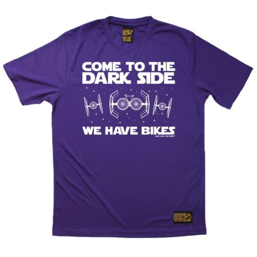 Come To The Dark Side We Have Bikes Breathable Sports T-SHIRT Cycling Birthday