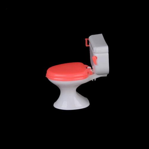 Hot 1x Puppe Zubehör Kunststoff WC Puppe Spielzeug Badezimmer Wohnmöbel Fad ZP