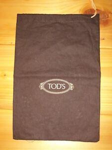 Original Tod's Italy Schuhbeutel Staubbeutel Bag Damenschuhe Braun 38