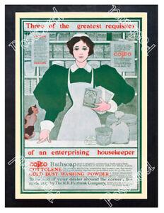 Historic-Requisites-Of-An-Enterprising-Housekeeper-Advertising-Postcard