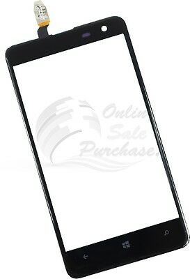 Digitizer Screen Lens self adhesive Glass  For Nokia Lumia 625 High Copy A+