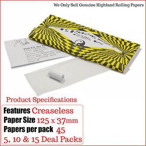 Highland-Cosmic-papeles-de-liar-Tamano-King-Consejos-5-10-amp-15-Paquetes