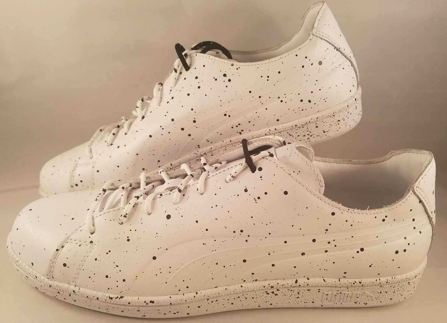 Puma Select x Daily Paper Match Splatter shoes Men's Size 12 White Black Sneaker