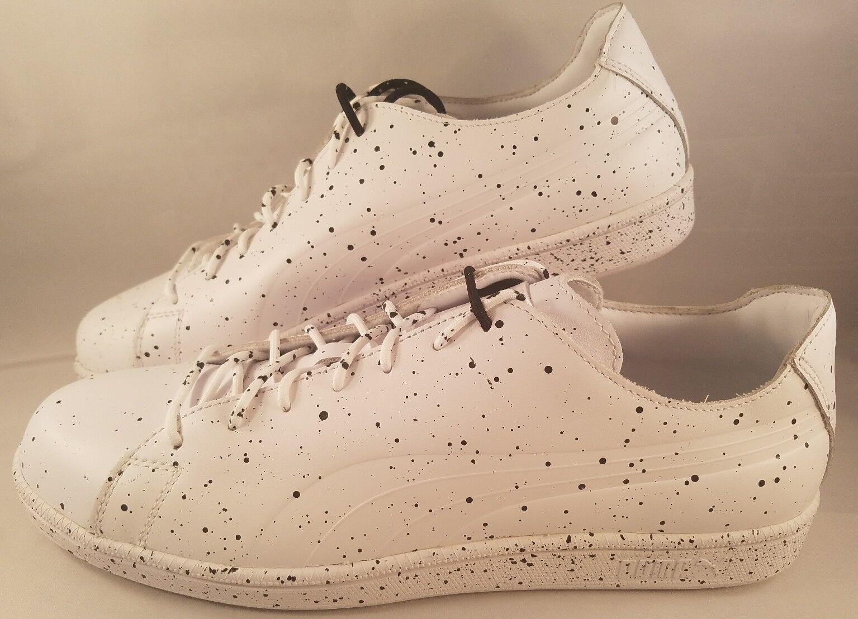 Puma Select x Daily Paper Match Splatter Shoes Men's Size 12 White Black Sneaker