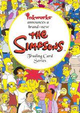 SIMPSONS MANIA 2001 INKWORKS SDCC SAN DIEGO COMIC CON PROMO CARD SD-2001
