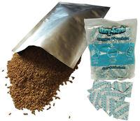 (10) 1-gallon Mylar Bags(10x14) & (10) Oxygen Absorbers Long Term Food Storage