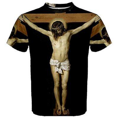 Jesus Christ Crucifix Sublimated Sublimation T-Shirt S,M,L,XL,2XL,3XL