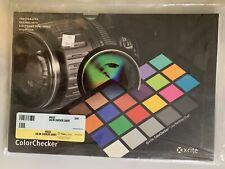 X-Rite MSCCC ColorChecker Classic 24 Colors Chart Card Checkerboard New Sealed