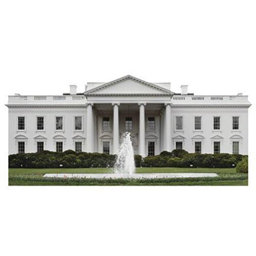 H20110 Weiß House United States President Cardboard Cutout Standup