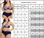 Indexbild 3 - Damen Gepolstert Zweiteilig Bikini Badeanzug Bademode Schwimmanzug Übergröße