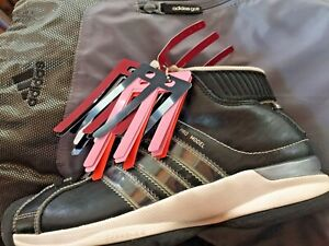 ADIDAS-PRO-MODEL-BLACK-High-Tops-5-5-Sneakers-Shoes-ADICOLOR-STRIPES-BACKPACK