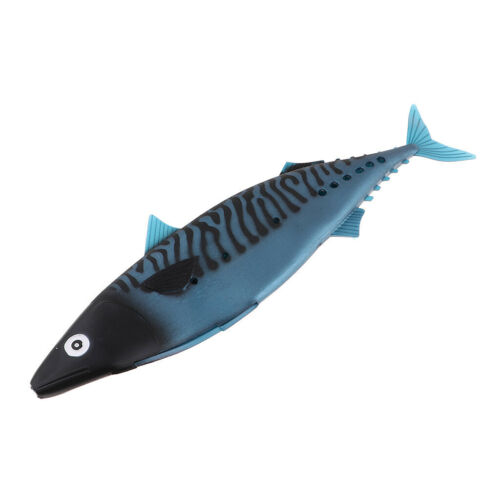 Soft Mackerel Fishing Lures Saltwater Sea Fishing Bait for Tuna Marlin