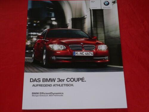 BMW 3er e92 COUPE 318i 320i 325i 330i 335i 320d 325d 330d 335d prospetto di 2012