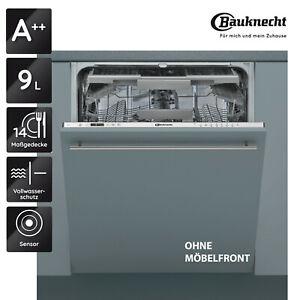 BAUKNECHT-OBKIC-3C26-F-Vollintegrierbarer-Geschirrspueler-60cm-EEK-A-14-Gedecke