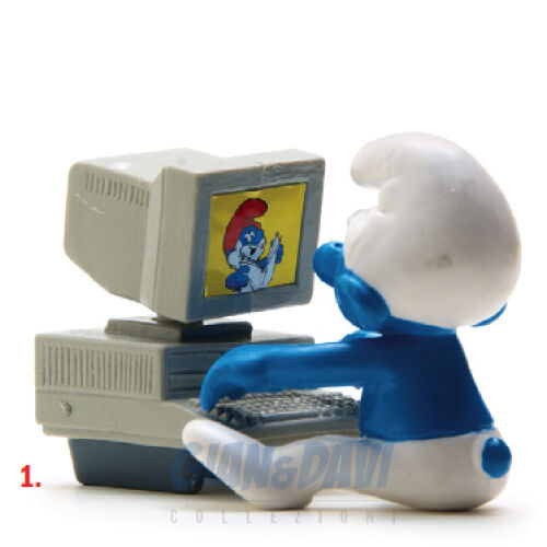 PUFFO PUFFI SMURF SMURFS SCHTROUMPF 4.0249 40249 Computer PC 1A