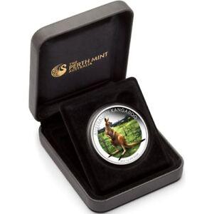 2014-KANGAROO-WORLD-MONEY-FAIR-BERLIN-1oz-Silver-Proof-Coin