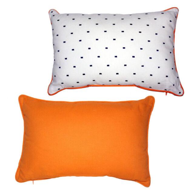 New Set Of 2 Royal Heritage Home Luna Decorative Throw Pillows 12 X 18 Zipper
