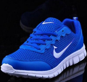 Hot-Men-Fashion-Sports-Sneakers-Comfort-Running-Shoes-Blue-white-Au8-5-Eur-43