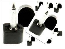10 pairs Black PU DIY shoe repair heel tip replacement heels size 9.5 mm odell
