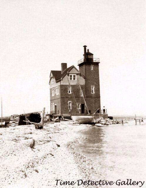 Lighthouse, Duluth, Minnesota - 1903 - Historic Photo Print