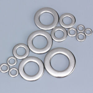 100Pcs-Stainless-Steel-Flat-Washers-Metric-Screw-M1M2-M2-5-M3-M4-M5-M6-M8-M10