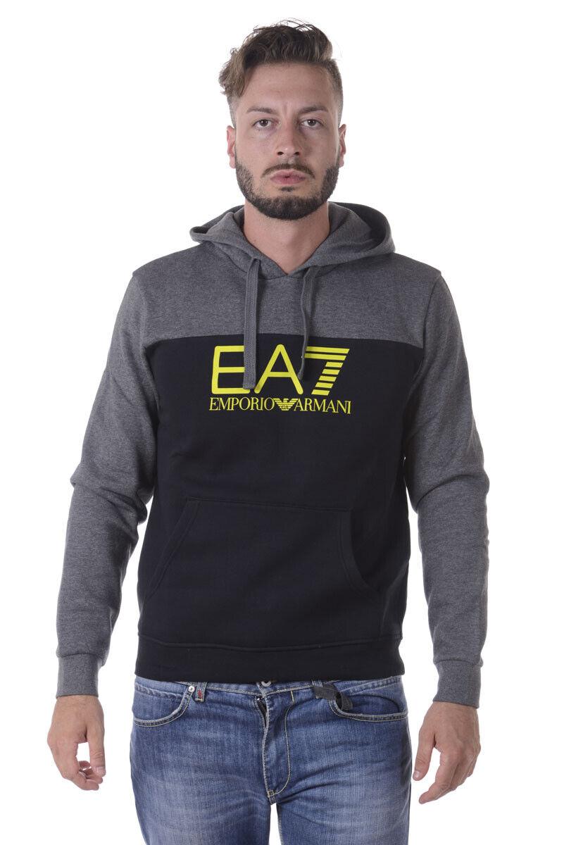 Emporio Armani EA7 schweißhemd Hoodie Man graus 6YPM98PJ07Z 22BH Sz.XXL PUT OFFER