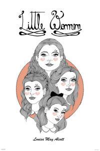 Little-Women-Louisa-May-Alcott-Art-Print-Poster-24x36-inch