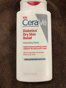 Cerave Cleansing Wash For Diabetics Dry Skin 10oz Free Shipping