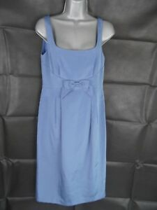 Occasion 10 Azure Fenn Cotton Dress Wedding Wright Rrp Size Manson Blend £175 XqvxwTq6C