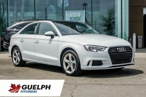 2019 Audi A3 Komfort Awd-Leather| Roof| Alloys|