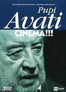 Pupi-Avati-Cinema-Cofanetto-Con-3-Dvd-Nuovo-Sigillato