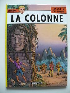 EO-comme-neuf-Lefrancq-14-La-colonne-Simon-Martin-Casterman