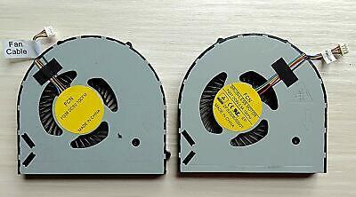 New Dell Alienware 15 17 R1 R2 R3 CPU /& GPU cooling fan DFS200805000T FG7A FG79