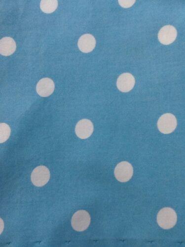 Custom Valance ~Blue and White Dotty~ Pottery Barn Teen 60 by 14 1//2 PB Teen