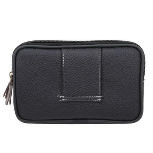 Clutch Bag Wallet Zip Belt Bag Coin Purse Camping Travel Mobile Phone Pocket DS