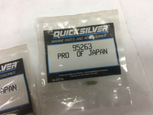 QUICKSILVER Needle valve kit 95263
