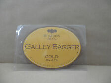 BRAYDON ALES GALLEY BAGGER GOLD   Bitter Ale Beer Pump Clip Pub Collectible