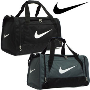 Nike Duffle Sports Team Gym Bag Holdall Travel Kit Bags Small Medium ... d25b70a87d170