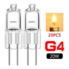 40pcs g4 base jc type tungsten halogen bulb lamp light super bright 12v 20w 3ED