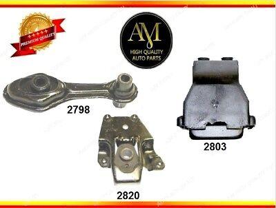 Engine /& Trans Mount Set 3PCS 1995-2002 for Pontiac Sunfire L4 2.2L for Auto.