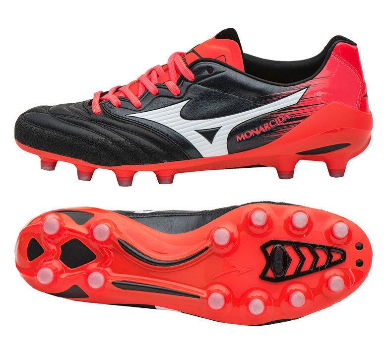 Mizuno monarcida 2 Neo Japón P1GA172001 Botines De Fútbol Zapatos botas Negro