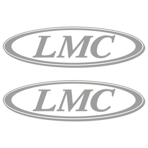 2 x LMC 50cm x 14,5cm aufkleber sticker wohnmobil camper wohnwagen caravan