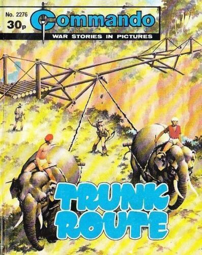 Commando For Action /& Adventure Comic Book Magazine #2276 TRUNK ROUTE